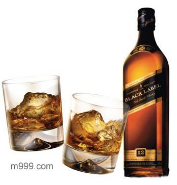 尊尼获加黑牌威士忌-美酒在线